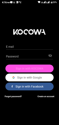 Screenshot of Kocowa For Android