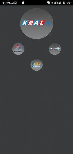 Screenshot of Kral TV App