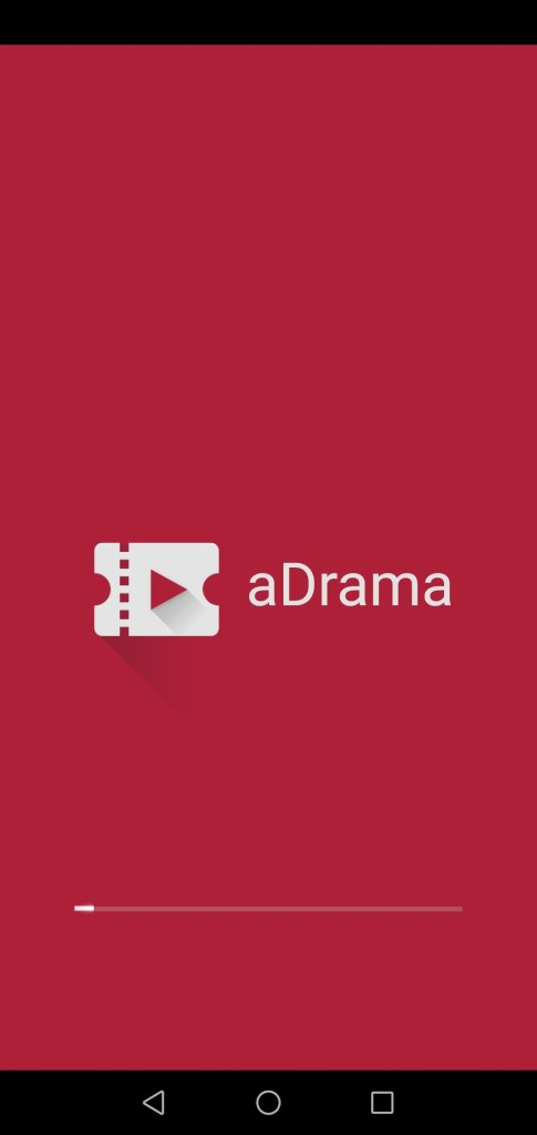 Screenshot of aDrama App