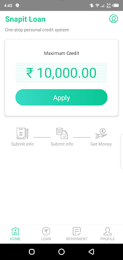 Screenshot of Snapit Loan For Android