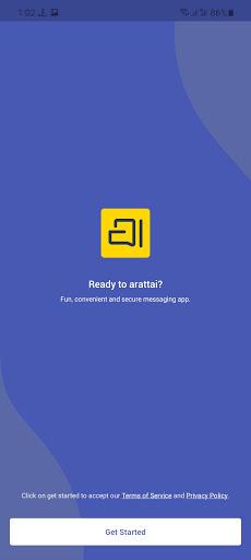 Screenshot of Arattai Apk