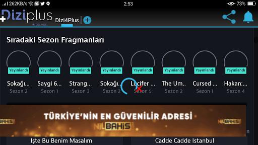 Screenshot of Dizi Plus Apk
