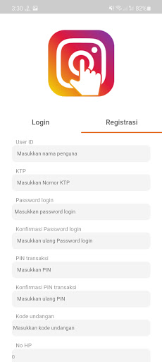 Screenshot of IG Like Indo