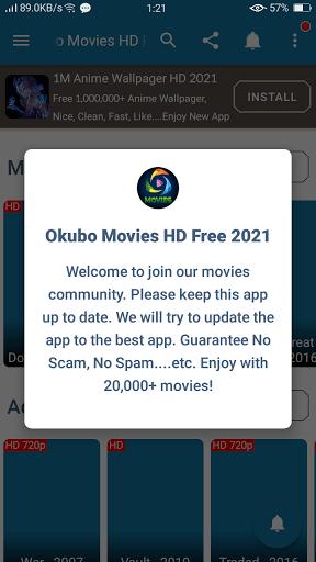 Screenshot of Okubo Mega HD Apk