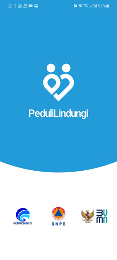 Screenshot of Pedulilindungi App