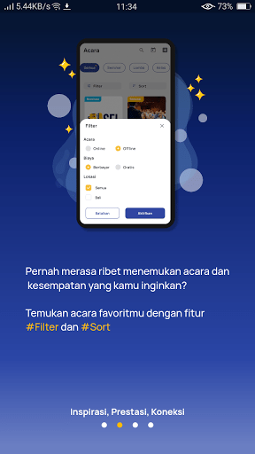 Screenshot of Sejuta Cita App