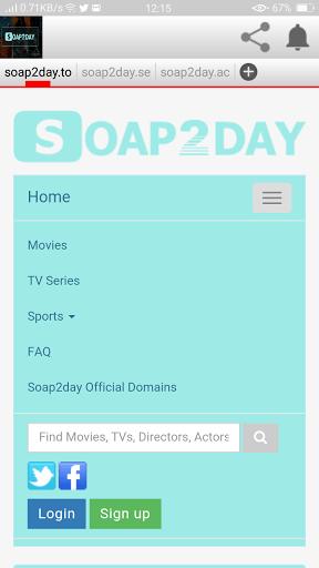 Screenshot of Soap2day App
