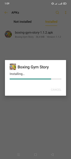 Screenshot of Boxing Gym Story Mod Apk