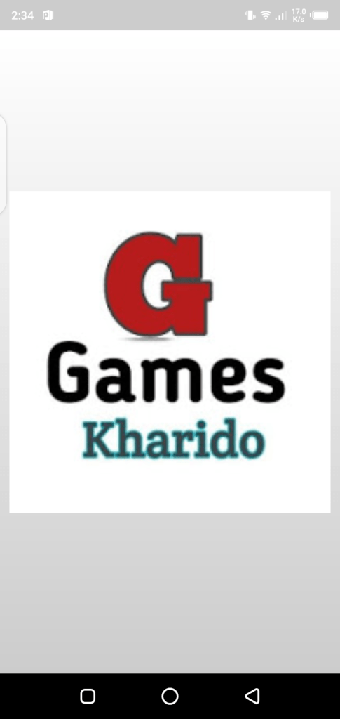 Screenshot of Games Kharido In App