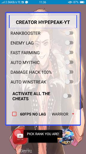 Screenshot of Vip Hype ML Apk