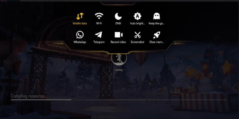 Screenshot of Game Turbo Apk