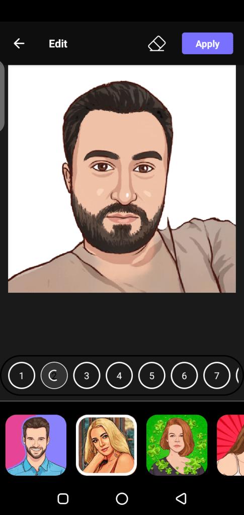 Screenshot of Toon App Pro Apk