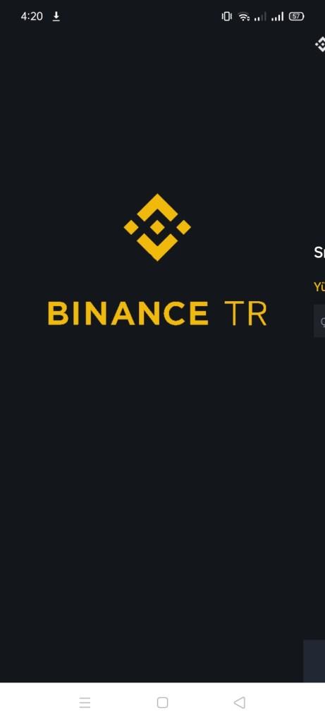 Screenshot of Binance TR Apk
