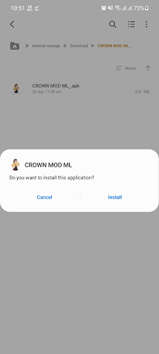 Screenshot of Crown Gaming VIP App