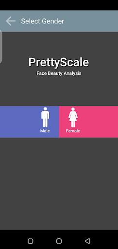 Screenshot of How Pretty Am I App