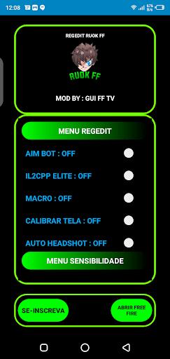 Screenshot of REGEDIT Macro Apk