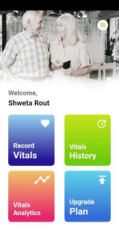Screenshot of Careplex Vitals Android