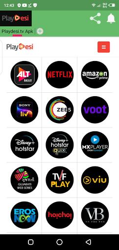 Screenshot of Desi Cinema TV Download