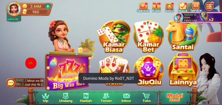Tangkapan layar Domino Aceh Unduh