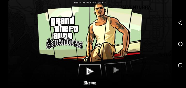 Screenshot of GTA San Andreas Indonesia Apk