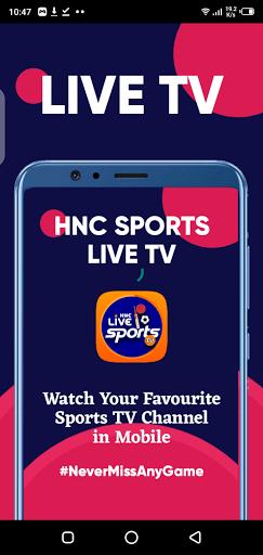 Screenshot of HNC Sports Live TV Apk