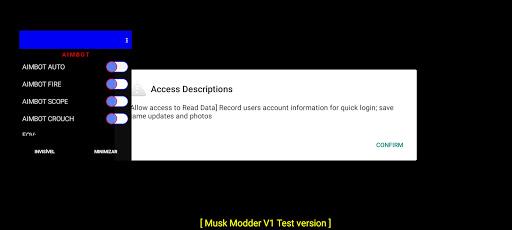 Screenshot of Musk Mod