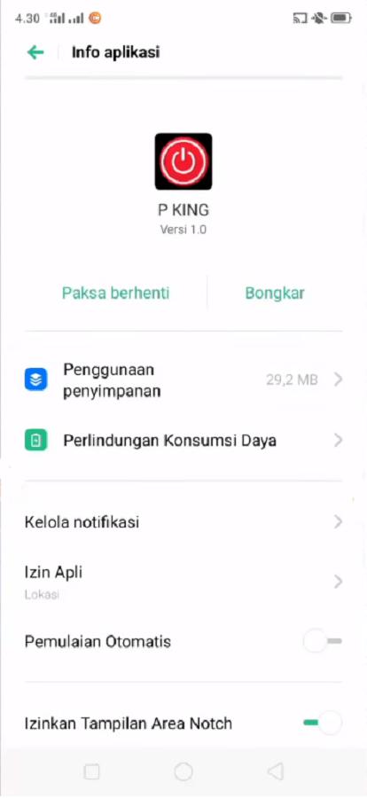 Screenshot of P King Apk