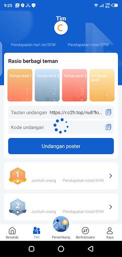 Screenshot of SYW App Download
