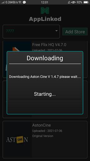 Screenshot of Applinked Download