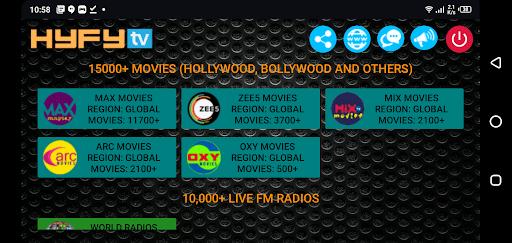 Screenshot of HyFy TV