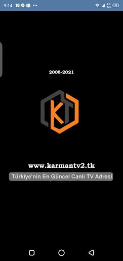 Screenshot of Karman TV