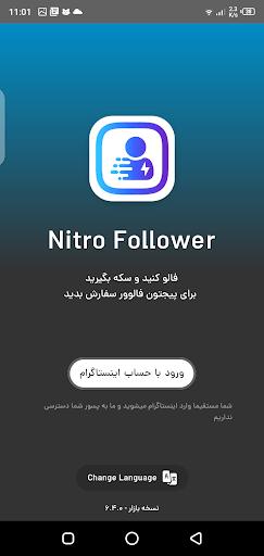 Screenshot of Nitro Follower Apk