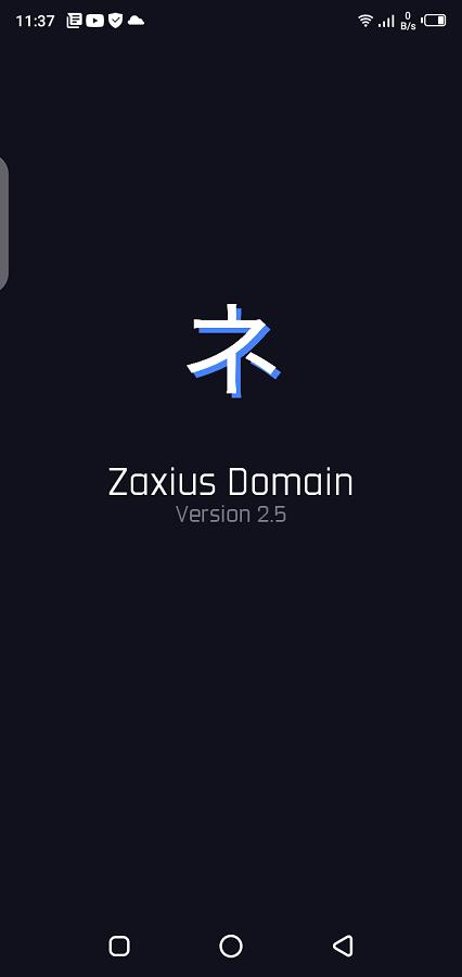 Screenshot of Zaxius Domain Injector Android