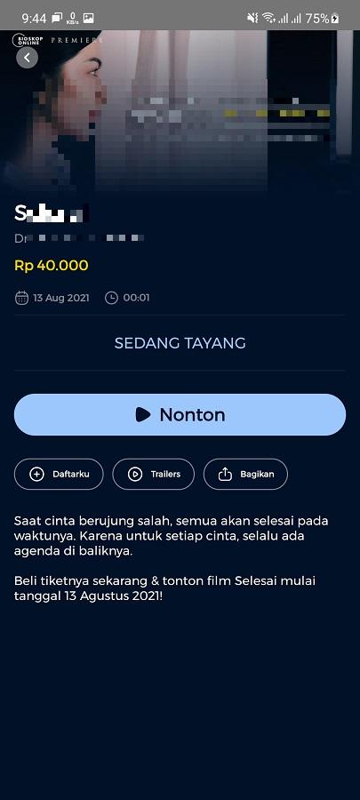 Screenshot of BIOSKOP Online Download
