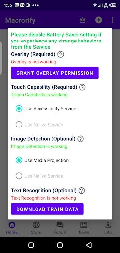 Screenshot of Macrorify Android
