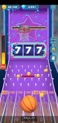 Screenshot of Toss Diamond Hoop