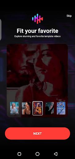 Screenshot of AI Composite Video App