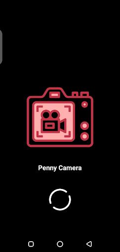 Screenshot of Penny Camera App