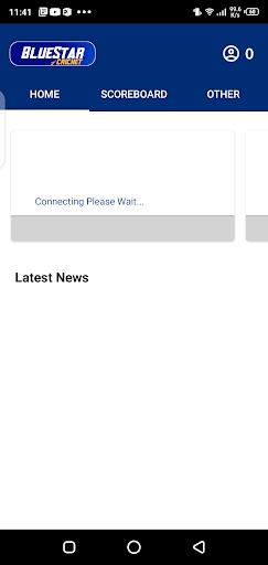 Screenshot of Blue Star Cricket App
