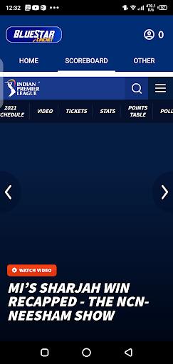 Screenshot of Blue Star Cricket IPL 2021