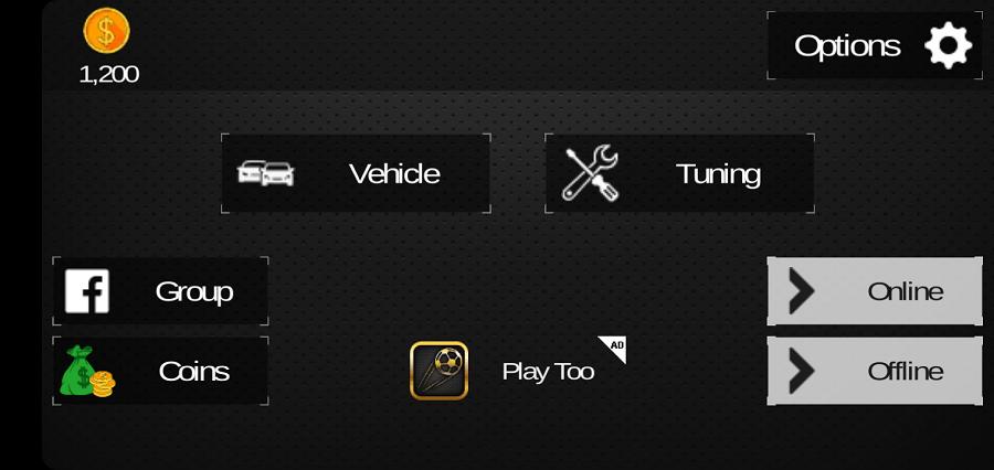 Screenshot of Rachas De Tunados Game