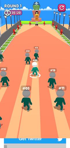 Screenshot of Squid Game Live or Die