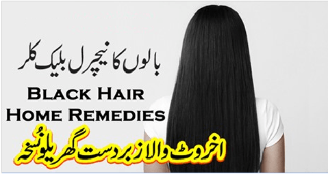 natural remedy for white hair in young age