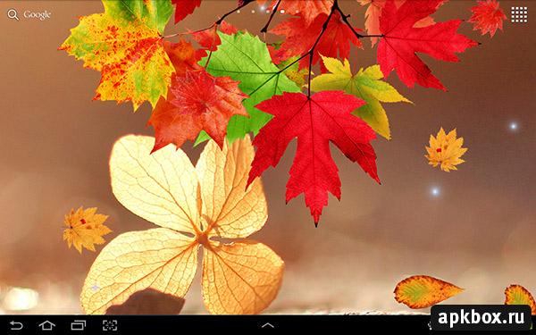 Falling Leaves Live Wallpaper Apk Falling Autumn Leaves Осенние живые обои 187 Скачать всё