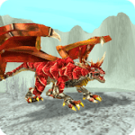 Dragon x Dragon City Sim Game v1.5.51 Mod (Unlimited Coins / Jewels / Foods) Apk