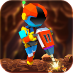 Robot Merger Gold Mining Idle Clicker v1.0 Mod (Unlimited Gold Coins / Diamonds) Apk