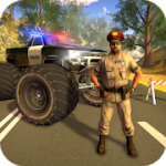 Police Truck Gangster Car Chase v1.1.0 Mod (Unlockable levels / characters / vehicles / guns) Apk