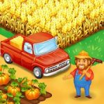 Farm Town Happy farming Day & food farm game City v2.48 Mod (infinite diamonds and gold) Apk