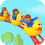 Idle Roller Coaster v1.8.0 Mod (Unlimited Money) Apk