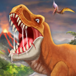 DINO WORLD Jurassic dinosaur game v11.72 Mod (Unlimited Money) Apk